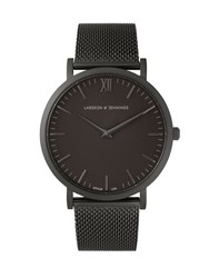 Larsson And Jennings Lugano 40Mm Black Chain Metal Watch