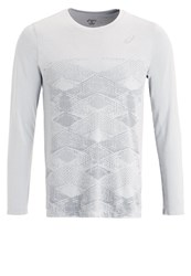 Asics Long Sleeved Top Mid Grey