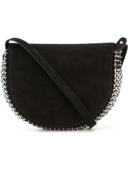 Paco Rabanne Chain Mail Detail Shoulder Bag Black