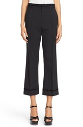 Women's Marc Jacobs Wool Blend Flared Crop Pants