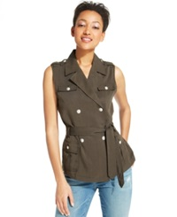 Tommy Hilfiger Belted Military Vest Jackrabbit
