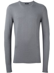 Unconditional Extra Long Sleeved Jumper Grey