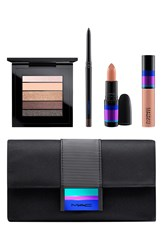 M A C 'Enchanted Eve Copper' Eye And Lip Bag Limited Edition Nordstrom Exclusive 89 Value Nude