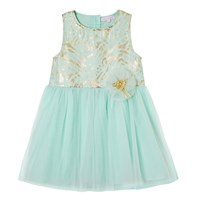 Cutie And Cool Laura Tulle Dress Gold Green