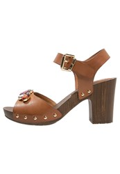 Anna Field Platform Sandals Nougat Brown