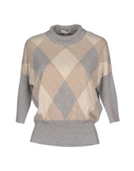 Ballantyne Turtlenecks Light Grey
