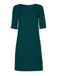 Pied A Terre Shift Dress 3D Poly Bottle Green