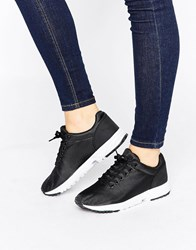 New Look Clean Contrast Trainer Black
