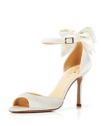 Kate Spade New York Open Toe Evening Sandals Izzie Bow Back High Heel