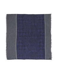 Daniele Alessandrini Oblong Scarves Dark Purple