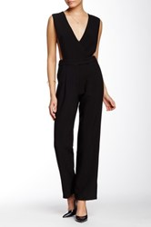 Endless Rose Crisscross Open Side Jumpsuit Black