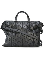 Issey Miyake Bao Bao 'Tonneau Boston' Shoulder Bag Black