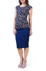 Isabella Oliver Women's Maternity Pencil Skirt Rich Navy