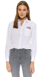 Paul And Joe Sister Chaperche Button Down Shirt White