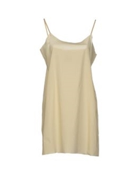 Semi Couture Short Dresses Ivory