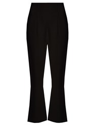 Altuzarra Norton Kick Flare Cropped Trousers Black