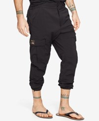 Denim And Supply Ralph Lauren Cargo Jogger Pants Black
