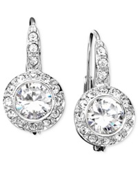 Eliot Danori Earrings Cubic Zirconia 1 1 2 Ct. T.W. And Crystal Accent