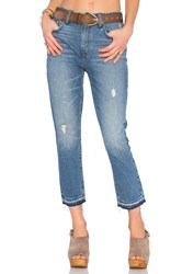 Lovers Friends Logan High Rise Tapered Jean Las Palmas