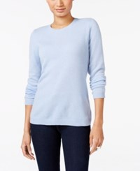 Charter Club Cashmere Crew Neck Sweater Only At Macy's Dusy Robin