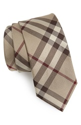 Burberry Woven Silk Tie Smoked Trench