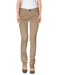 Magazzini Del Sale Trousers Casual Trousers Women Sand