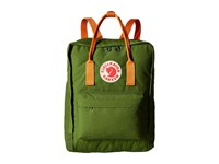 Fjall Raven K Nken Leaf Green Burnt Orange Backpack Bags Olive