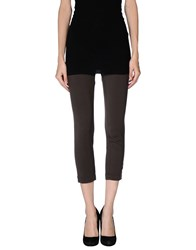 Pinko Skin Trousers Leggings Women Dark Brown
