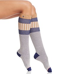 Stance School Girl Tall Socks Khaki