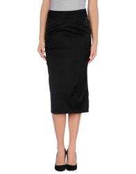 Erika Cavallini Semi Couture Erika Cavallini Semicouture 3 4 Length Skirts Black