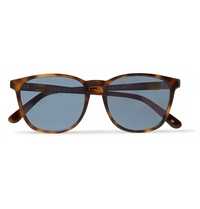 L.G.R Square Frame Mirrored Sunglasses Brown