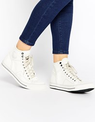 G Star G Star Campus Raw High Top Trainers White