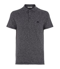 Burberry Brit Fine Stripe Polo Shirt Male Navy