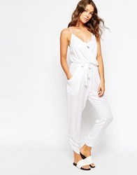 Seafolly Canyon Jumpsuit White
