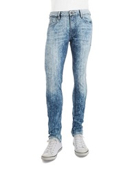 Guess Acid Wash Skinny Jeans Blue