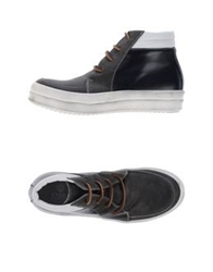 Enrico Fantini High Tops And Trainers Dove Grey