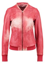 Freaky Nation Bomber Jacket Rot Red