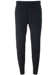 Hope Slim Fit Cropped Trousers Black