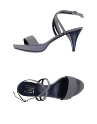 Sgn Giancarlo Paoli Sandals Grey
