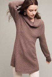 Anthropologie Rosie Cowlneck Pullover Brown