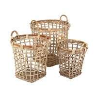 Flamant Home Interiors Horage Basket Set Of 3