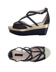 Escada Footwear Sandals Women Dark Blue