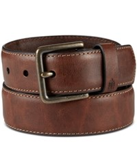 Nautica Men's Feather Edge Milled Belt