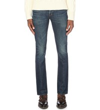 Tom Ford Slim Fit Tapered Jeans Blue