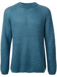 H Beauty And Youth Crew Neck Jumper Green