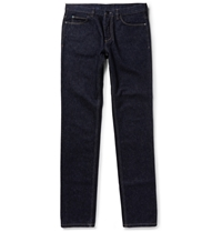Lanvin Slim Fit Indigo Denim Jeans Blue