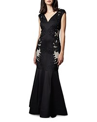 Phase Eight Anne Lace Detail Gown Black