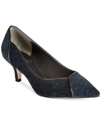 Adrianna Papell Lydia Low Heel Pump Women's Shoes Blue