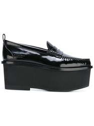 Givenchy Platform Penny Loafers Black