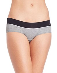 Kensie Kate Hipster Panty Heather Charcoal